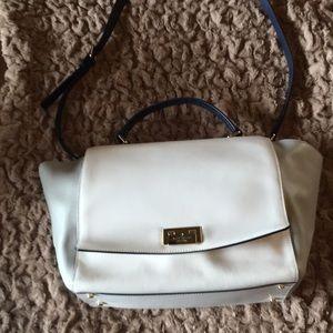 Kate Spade large purse cream/grey/navy